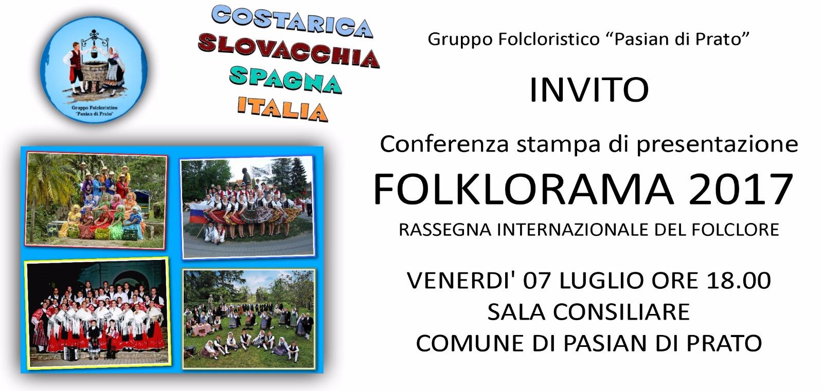 2017 Presentazione Folklorama