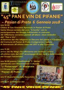 Locandina Pan e Vin 2018