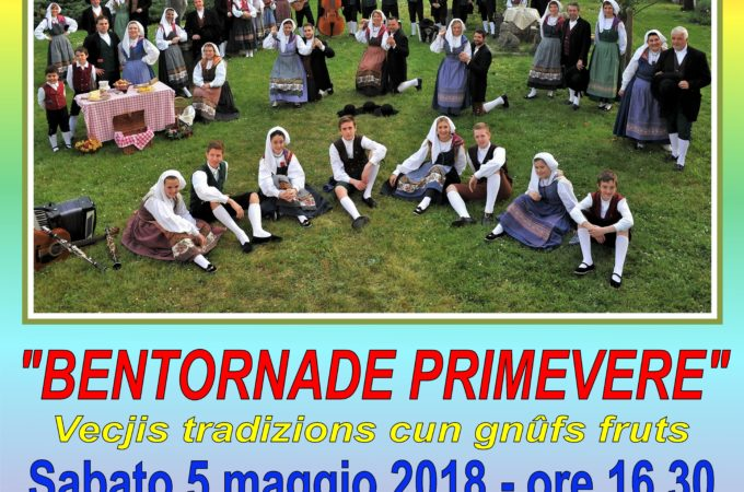 Bentornade Primevere 2018